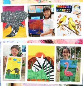 little artist programmes cospacious